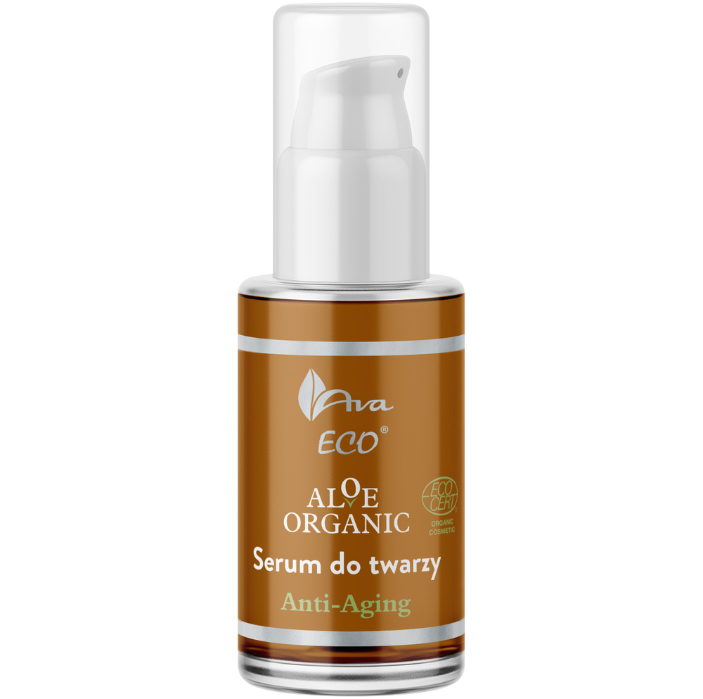 AVA ECO -   Ava Aloe Organic serum do twarzy anti-ageing