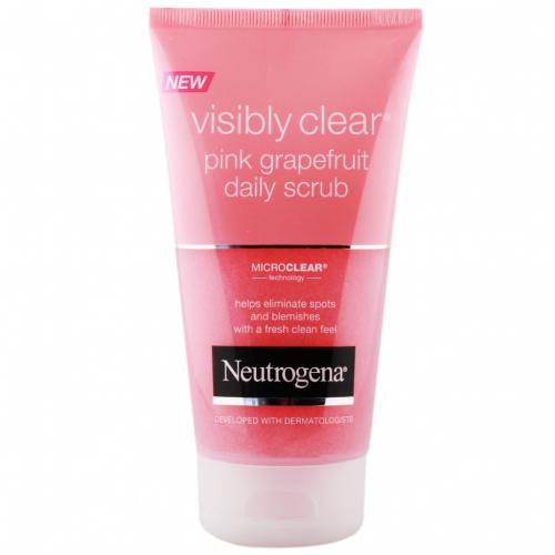 Neutrogena -  Neutrogena Visibly Clear Pink Grapefruit Daily Scrub