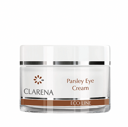 CLARENA -  CLARENA Parsley Eye Cream Nawilżający krem pod oczy z pietruszką