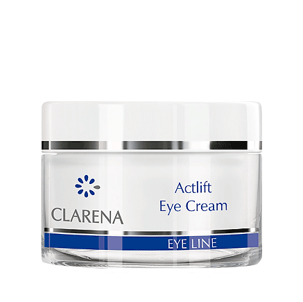 CLARENA -  CLARENA Actlift Eye Cream Aktywnie liftujący krem pod oczy z diamentem