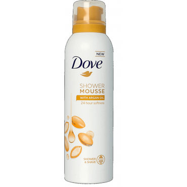 Dove -  DOVE Shower Mousse mus do mycia ciała Argan Oil