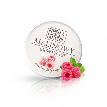 Fresh & Natural -  MALINOWY balsam do ust