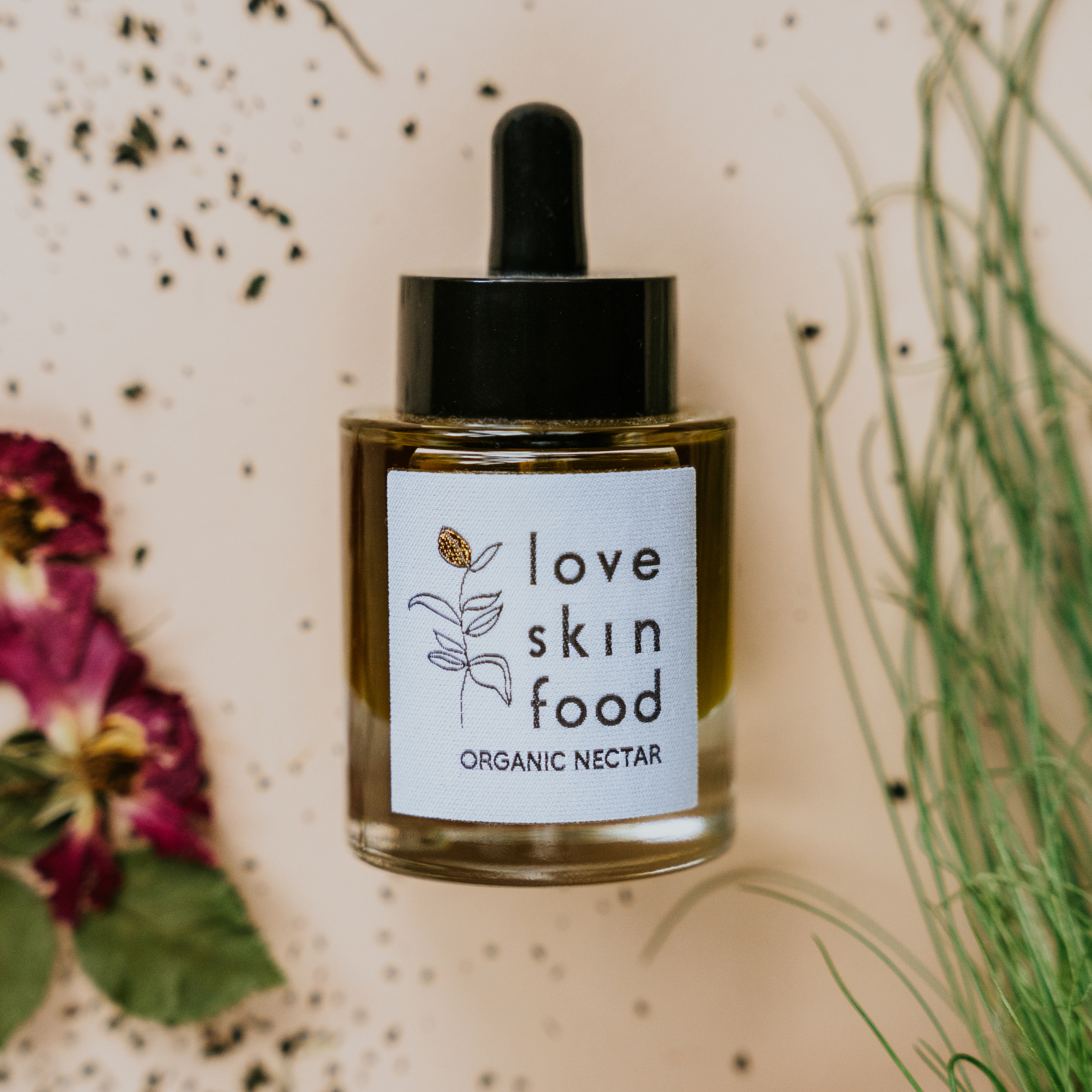 Love Skin Food -  Love Skin Food ORGANIC BEAUTY AGEING GOLD 24K NECTAR