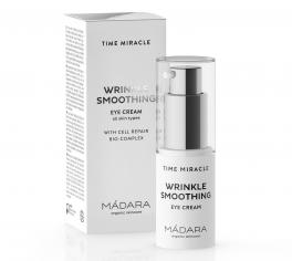 Madara -  Krem pod oczy Time Miracle Wrinkle smoothing MÁDARA