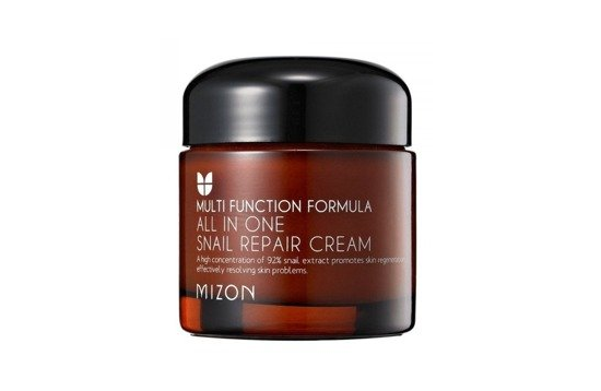 MIZON -  MIZON ALL IN ONE SNAIL REPAIR CREAM REGENERUJĄCY KREM ZE ŚLUZEM ŚLIMAKA 120ML