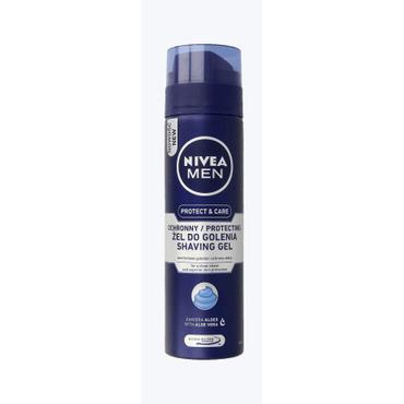 Nivea For Men -  NIVEA MEN Protect & Care żel do golenia nawilżający 200 ml