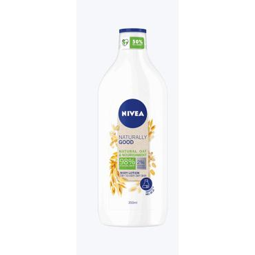 Nivea -  NIVEA Naturally Good balsam do ciała z owsem 350 ml