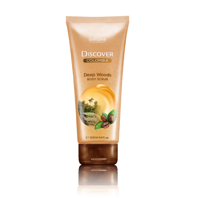 Oriflame -  Scrub do ciała Discover Colombia Deep Woods