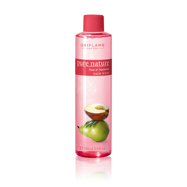 Oriflame -  Pure Nature Pear & Nectarine Face Wash