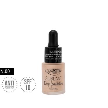 puroBio Cosmetics -  PuroBIO Podkład SUBLIME DROP FOUNDATION 00