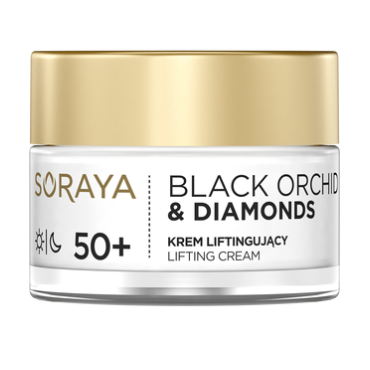 Soraya -  Soraya Black Orchid & Diamonds Krem Liftingujący 50+ Dzień/Noc 50ml