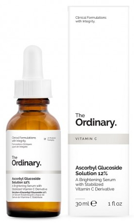 The Ordinary -  The Ordinary, Ascorbyl Glucoside Solution 12%, Serum do twarzy, 30 ml