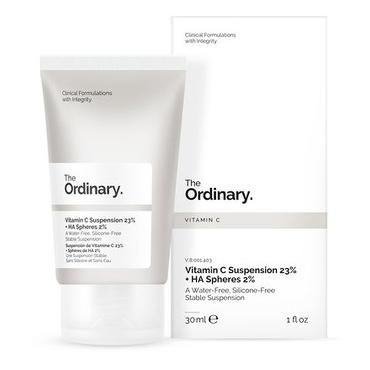 The Ordinary -  The Ordinary, Vitamin C Suspension 23% + HA Spheres, 2%, Serum z 23% Witaminą C i 2% Kwasem Hialuronowym, 30 ml
